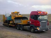 Услуги низкорамного трала для перевозки негабаритных грузов по Казахст